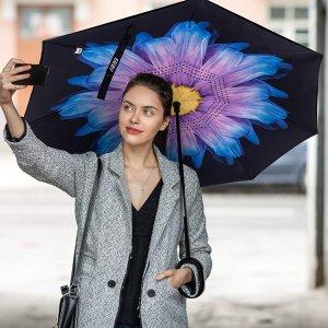 As Low As $16.53EEZ-Y Reverse Inverted Windproof Umbrella