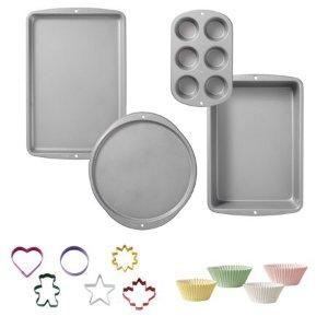 $11.24Wilton 110-piece Non-Stick Bakeware Set