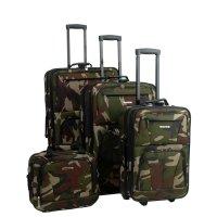 软面迷彩行李箱4件套
