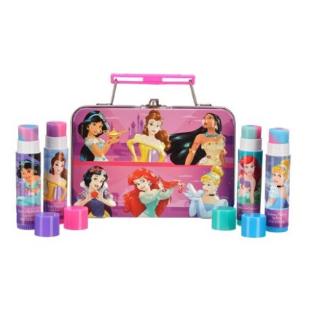 $4.88(价值$9.99) 适合送礼Disney 迪斯尼唇膏5件套装