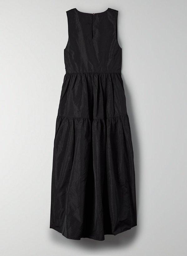 塔夫绸连衣裙