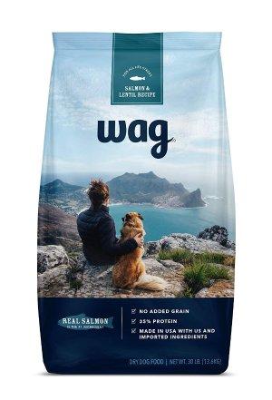 $9.09Wag 多款狗粮5磅装享优惠 Amazon 自品牌