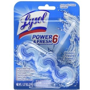 $1.89Lysol Power & Fresh 6 Automatic Toilet Bowl Cleaner, Ocean fresh , 1.37 Ounce