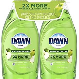 $4.88Dawn Ultra Antibacterial Dishwashing Liquid, Apple Blossom, 19.4 Fl Oz, 2 Count @ Amazon.com
