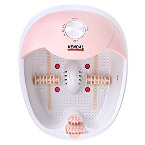 Amazon.com: All in one foot spa bath massager w/heat, HF vibration, O2 bubbles red light FB10: Health & Personal Care