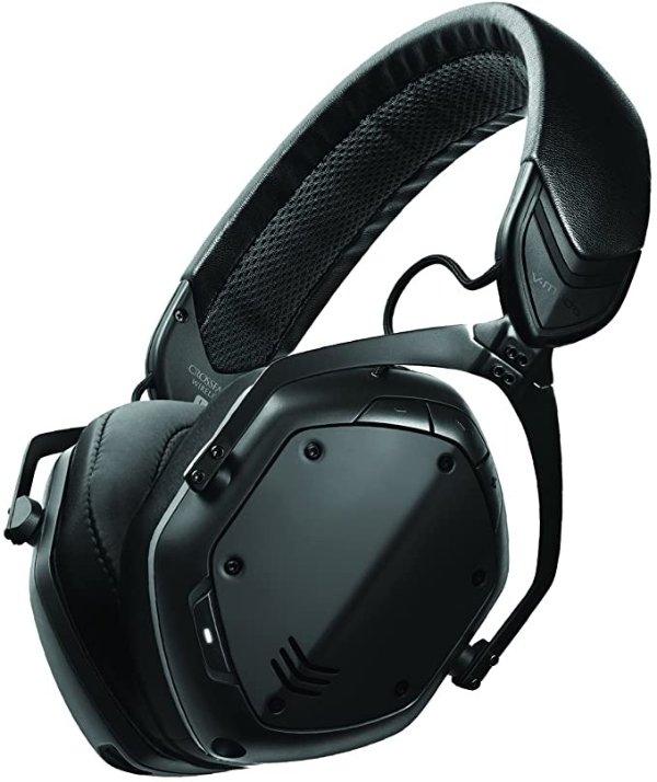 V-MODA XFBT2-MBLACK Crossfade 2 Wireless Oer-Ear Headphones, Matte Black