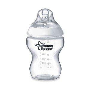 Tommee Tippee Closer to Nature 9 oz. Clear Baby Bottle | buybuy BABY