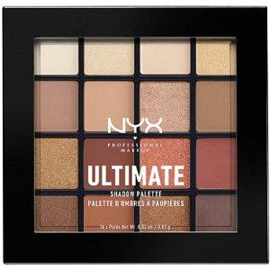 NYX Warm Neutrals Ultimate Shadow Palette | Ulta Beauty