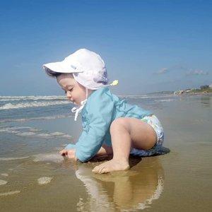 $18.36(原价$24.99)婴儿遮阳帽 透气舒适面料 保护面部颈部娇嫩肌肤