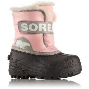满百再送$25礼卡Sorel 官网 儿童专业雪地靴低至5.3折,有大童款可亲子