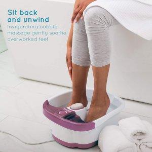 无门槛6折 £23入足浴盆HoMedics、Omron、 Braun 按摩椅、足浴盆 宅家养生必备