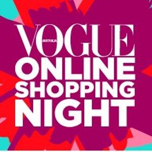 折扣堪比黑5Vogue 时尚网购夜 众多澳洲商家齐聚今晚