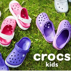 50% Off ClearanceKids Shoes Semi-Annual Clearance Event @ Crocs