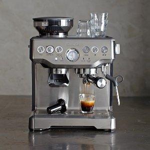 史低价:Breville BES870XL 专业意式咖啡机