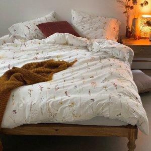 Urban Outfitters花朵床品