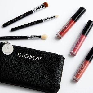 全场额外6.5折Sigma Beauty 全场彩妆刷促销 收热门点彩刷、新手套刷