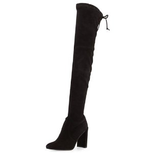 $209(Org. $698) Stuart Weitzman Highchamp Suede Over-the-Knee Boot @ Neiman Marcus