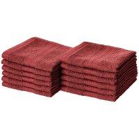 AmazonBasics 100%纯棉快干毛巾 12条
