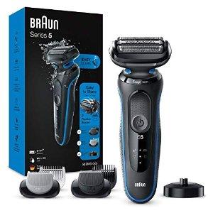 Braun5系剃须刀 蓝黑套装