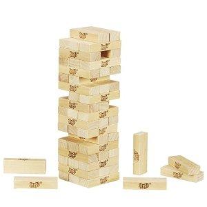 $5.51 (原价$14.99) 迷你版$3.96Jenga 经典叠叠乐积木玩具,轰趴必备