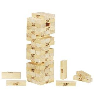 $5.39(原价$14.99)Jenga 经典叠叠乐积木玩具