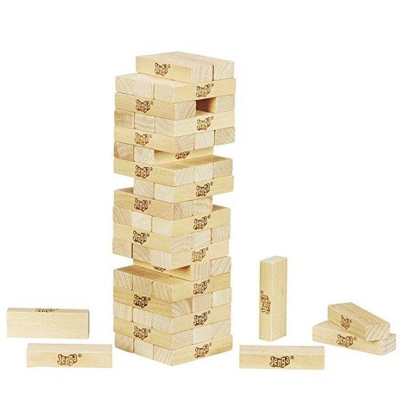 Jenga 经典叠叠乐积木玩具