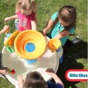 热卖款 $54.97(原价$94)Little Tikes Spiralin' Seas 儿童戏水游戏桌好价