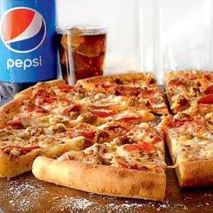 大号披萨仅$11Papa John's 芝士汉堡口味披萨特价 料多价好