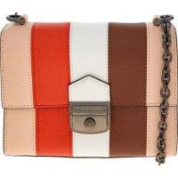 Longchamp 条纹链条包