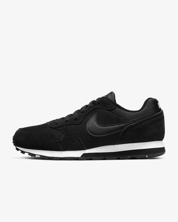 MD Runner 黑色运动鞋