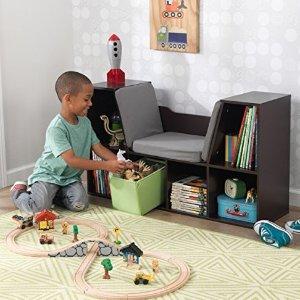 $58.27 (原价$85.29)KidKraft 儿童收纳柜,还能当座椅