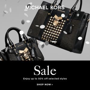 低至4折 €97收链条包Michael Kors 折扣区美包热卖 明星们都爱背的轻奢包