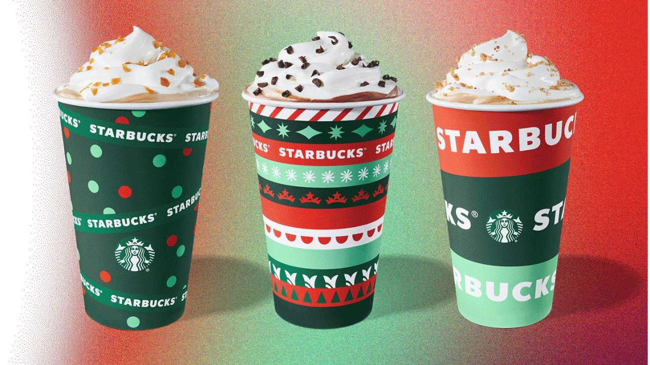 星巴克、Tim Hortons圣诞节限定饮品+甜点上市!薄荷摩卡、栗子拿铁、蛋奶酒咖啡又来啦~