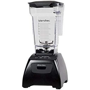 Amazon.com: Blendtec Classic Fit Blender with FourSide Jar (75 oz), 30-sec Pre-programmed cycle, High-Low Pulse, Professional-Grade Power, Black: Kitchen & Dining