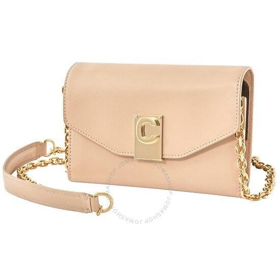 少女心满满的裸粉色手机包