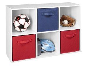 $26 ClosetMaid 8996 Cubeicals 6 Cube Organizer, White