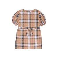 Burberry 女童格子连衣裙