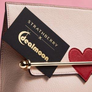 加拿大包邮包税 仅对Dealmoon粉丝开放情人节独家:Strathberry Limited 限定款包包上新热卖