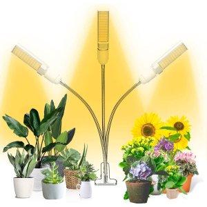 $17.99(原价$36.99)史低价:TONPVOU 植物生长LED灯 可定时 室内种菜再无烦恼