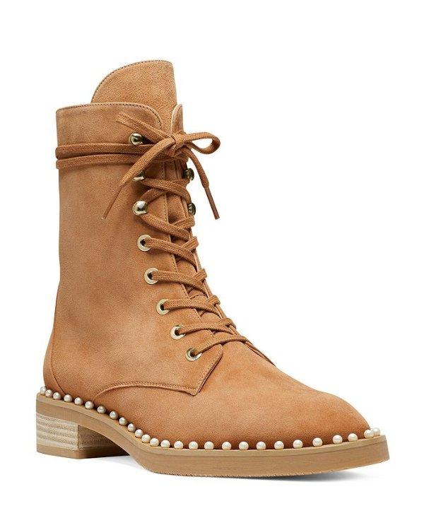 Women's Sondra 珍珠马丁靴