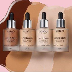 无门槛3折KIKO MILANO 精选底妆彩妆护肤品热卖 平价中的战斗机