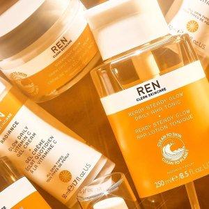 史低!£15收果酸亮肤套装折扣升级:Ren Skincare 年末大促5折起!英国有机护肤 明星产品惊现史低价!