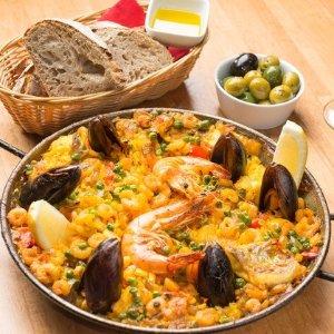 低至6折 两种套餐选择Jamon Jamon 海鲜饭 Tapas 套餐热卖