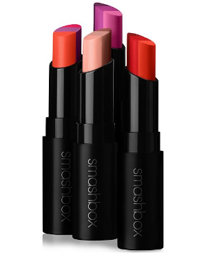 Get $5 Off + a free lip bag & primer packettewith any lip purchase @Smashbox