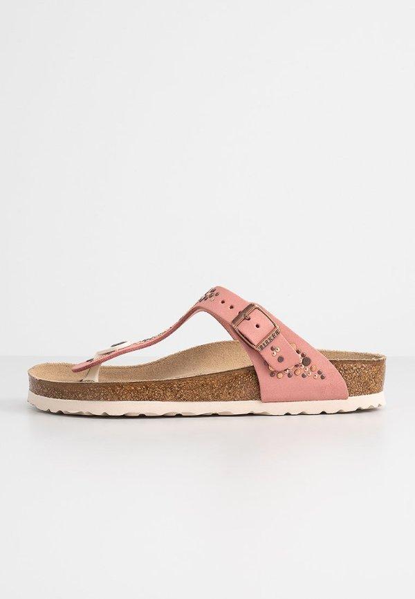粉色夹脚拖