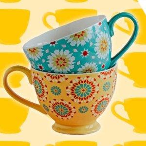 满€70赠封面一对砖花茶杯Whittard 全场好礼相赠 一大波夏日冰饮上新
