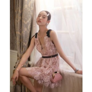 Self-PortraitStarlet 蕾丝连衣裙