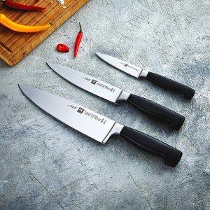 现价€88.72(原价€174)双立人 四星系列 刀具 3件套 特价