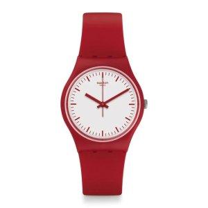 Swatch经典红色手表