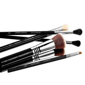7.5折 + 满送24件礼包Sigma 化妆刷热促 超耐造化纤毛 上脸柔软似动物毛